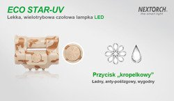 Latarka Czołowa NEXTORCH ECO STAR UV