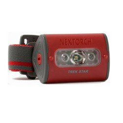 Latarka Czołowa NEXTORCH TREK STAR Red